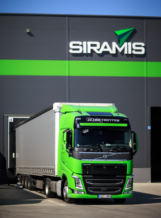 The fleet includes more than 100 tractor units